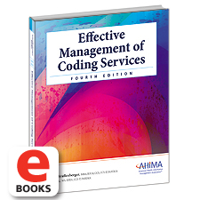 My ahima effective management of coding services fourth edi fandeluxe Gallery