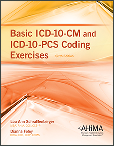 My ahima basic icd 10 cm and icd 10 pcs coding exercises sixth fandeluxe Gallery